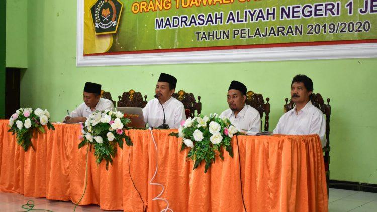 Pertemuan Ta'aruf Wali Murid Calon Siswa dan Daftar Ulang  ( MANPK, BIC, & Reguler )