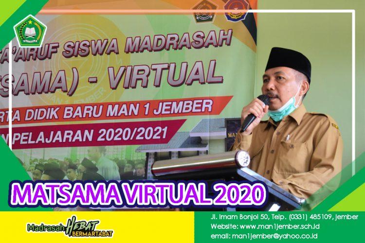 MATSAMA VIRTUAL MAN 1 JEMBER TAHUN 2020/2021