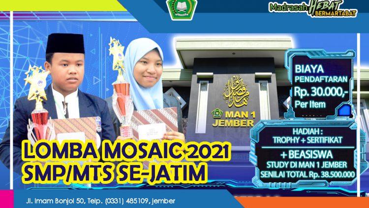 PENETAPAN FINALIS MOSAIC 2021